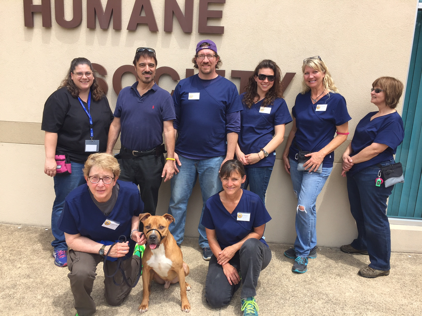 Photo of ARL students at Canine Behavior ARL Spring 2016 Palm Coast, FL USA